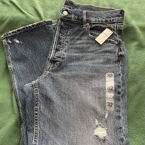 Gap Cheeky Straight High Rise Denim Jeans